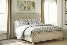 деревянная кровать сани King Size Ledelle Ashley