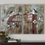 Картина Birds In A Cage I, Uttermost